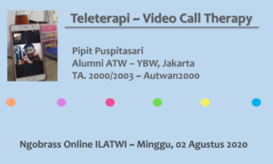 HANYA MELAYANI VIDEO CALL THERAPY